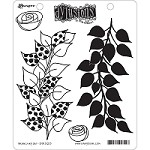*PRE-ORDER* Dylusions - Cling Rubber Stamps - Branching Out