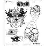 *PRE-ORDER* Dylusions - Cling Rubber Stamps - The Eyes Have It