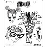 Dylusions - Cling Rubber Stamps - Always