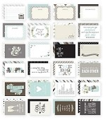 Simple Stories - Sn@p! 4x6 Cards - Wedding