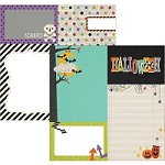 "Simple Stories - Frankie and Friends Collection - 12""x12"" Double-Sided Cardstock - 4x4 and 6x8 Journaling Card Elements"