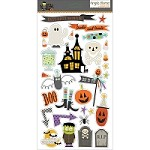 Simple Stories - Frankie and Friends Collection - 6x12 chipboard stickers