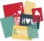 "Simple Stories - Homespun Collection - SN@P! Cuts - 4""x6"" Die Cut Cards"