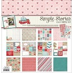 Simple Stories - Hugs & Kisses Collection - Collection Kit