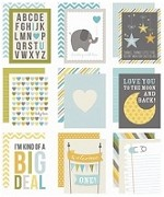 Simple Stories - Sn@p! 3x4 Cards - Baby Boy