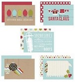Simple Stories - Sn@p! 4x6 Cards - Christmas