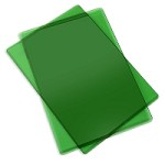 Sizzix Accessory - Replacement Cutting Mats (1 pair) APPLE GREEN color