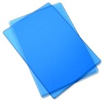 Sizzix Accessory - Replacement Cutting Mats (1 pair) BLUEBERRY color