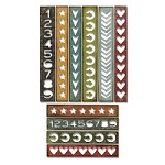 Sizzix - Thinlits Dies by Tim Holtz - 10PK Shape Strips