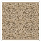 "Sizzix - Textured Impressions - 6""x6"" Embosing Folder - by Vintaj - Etruscan Relief"