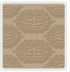 "Sizzix - Textured Impressions - 6""x6"" Embosing Folder - by Vintaj - Indian Print"