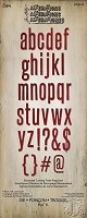 Sizzix Bigz XL Alphabet Die by Tim Holtz - Block Talk Lowercase