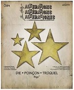 Sizzix - Bigz Die by Tim Holtz - Stacked Stars