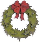 Sizzix Bigz Die - Holiday Wreath by Tim Holtz