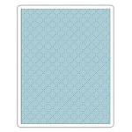 Sizzix - Texture Fades Embossing Folder by Tim Holtz - Quilted