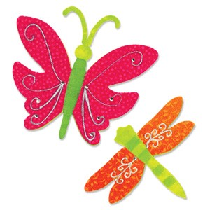 Sizzix - Originals Die - Large Butterfly & Dragonfly