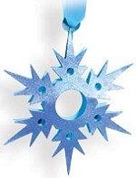 Sizzix - Bigz by E.L Smith - Hanging Snowflake #2