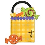 Sizzix - Bigz by Brenda Pinnick - Treat Bag & Candy