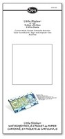 "Sizzix Little Sizzles - 6""x13"" Mat Board (6) Pack - White"