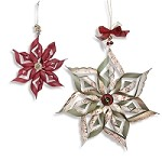 Sizzix - Thinlits Dies by Rachael Bright - Ornaments, Scalloped Stars (set of 6 dies)