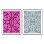 Sizzix Texture Fades by Tim Holtz - Damask Set