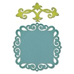 Sizzix Thinlits - Dies - by Rachael Bright - Decorative Accent & Label