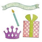 Sizzix Thinlits - Dies - by Echo Park Paper Co. - Birthday