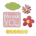 Sizzix Thinlits - Dies - by Echo Park Paper Co. - Thankyou
