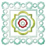 Sizzix Thinlits - Die Set- by Rachael Bright - 5 Pack - Frames, Ornate Moroccan