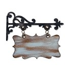Sizzix Bigz by Tim Holtz - Hanging Sign