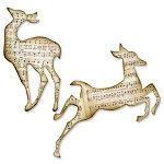 Sizzix Bigz Die by Tim Holtz - Reindeer Flight