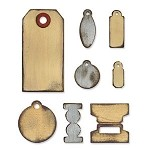 Sizzix Bigz by Tim Holtz - Tiny Tabs & Tags