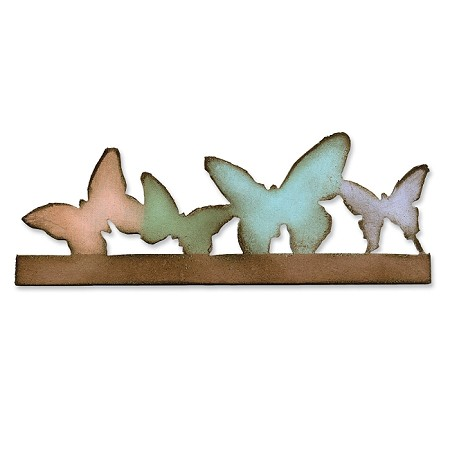Sizzix On The Edge Die by Tim Holtz - Butterflight