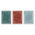 Sizzix Texture Trades by Tim Holtz - Poker Face Set