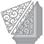 Spellbinders - Designer Die - Amazing Paper Grace Filigree Side Pocket