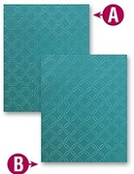 "Spellbinders M-Bossabilities (Embossing Folder) - Grand Garden lattice (8.25""x11.75"")"