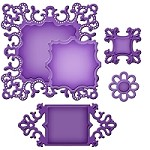 Spellbinders Shapeablilities Dies - Ornate Square
