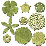 Spellbinders - Shapeabilities Die - Tudor Rose Collection