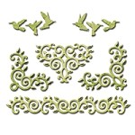 Spellbinders - Shapeabilities Die - Draping Vines Elements