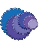 Spellbinders-Nestabilities Dies-Circles Classic Scallop Small