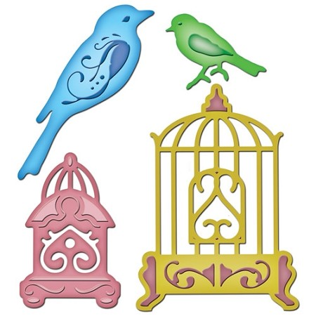 Spellbinders-Bird Sanctuary