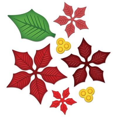 Spellbinders-Poinsettia Creations