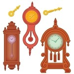 Spellbinders-Retro Mod Clocks
