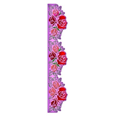 "Spellbinders-Dies-Grand 12"" Rose Borderabilities"