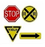 Spellbinders-Dies-Road Signs