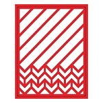 Spellbinders - Shapeabilities Die - Diagonal Chevron