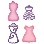 Spellbinders Shapeabilities Die - Decorative Dress Forms