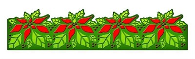 Spellbinders-Dies-Poinsettia Borderabilities