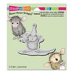 Stampendous - Cling Mounted Rubber Stamp - House Mouse So Big