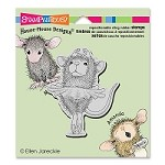 Stampendous - Cling Mounted Rubber Stamp - House Mouse Ballerina Baby